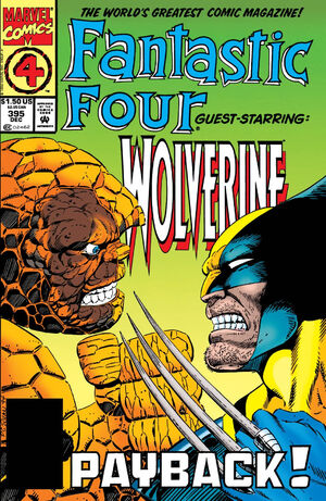 Fantastic Four Vol 1 395