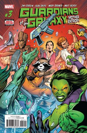 Guardians of the Galaxy Mother Entropy Vol 1 3