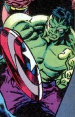 Hulk (Taskmaster Robot) (Earth-616) Hawkeye Earth's Mightiest Marksman Vol 1 1