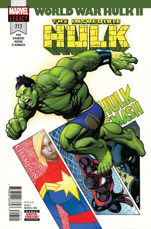 Incredible Hulk Vol 1 717