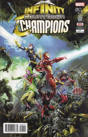 Infinity Countdown Champions Vol 1 1