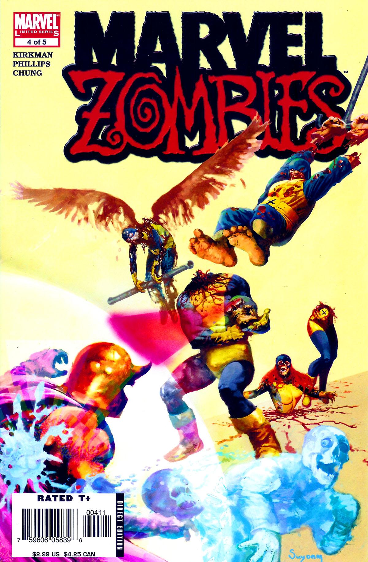 1-5 signed MARVEL ZOMBIES 2 HARD COVER ARTHUR SUYDAM 1st print CAPTAIN AMERICA