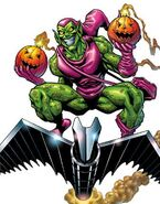 Norman Osborn (Earth-616) from Marvel Legends (Trading Cards) 0002