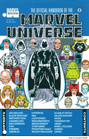Official Handbook of the Marvel Universe Master Edition Vol 1 9