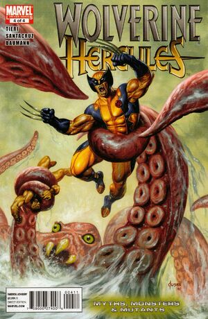 Wolverine Hercules Myths, Monsters & Mutants Vol 1 4