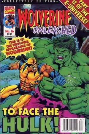 Wolverine Unleashed Vol 1 16