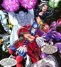 Avengers (Earth-928) from 2099 Manifest Destiny Vol 1 1 0001