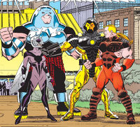 Avengers (Earth-982) from A-Next Vol 1 1 001