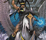 Danielle Moonstar and Brightwind (Earth-41001) from X-Men The End Vol 2 6 0001