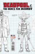 Deadpool & the Mercs for Money Vol 1 2 Design Variant