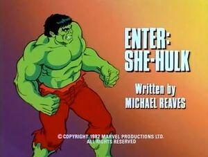 Incredible Hulk (1982 animated series) Season 1 11 Screenshot