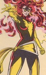 Jean Grey (Earth-7642) from Uncanny X-Men and The New Teen Titans Vol 1 1 002