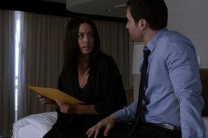 Kara Lynn Palamas (Earth-199999) and Grant Ward (Earth-199999) from Marvel's Agents of S.H.I.E.L.D. Season 2 14