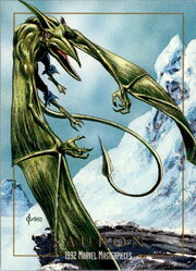 Karl Lykos (Earth-616) from Marvel Masterpieces Trading Cards 1992 0001