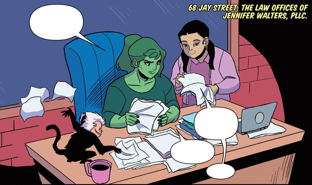 File:Law Offices of Jennifer Walters, PLLC (Earth-616) from Patsy Walker, A.K.A. Hellcat! Vol 1 7 001.jpg