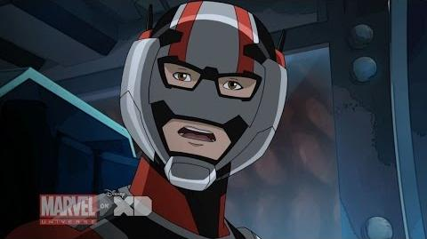 "Marvel's Ultimate Spider-Man Web-Warriors - ""Ant-Man"" Clip"