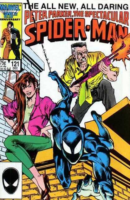 Peter Parker, The Spectacular Spider-Man Vol 1 121