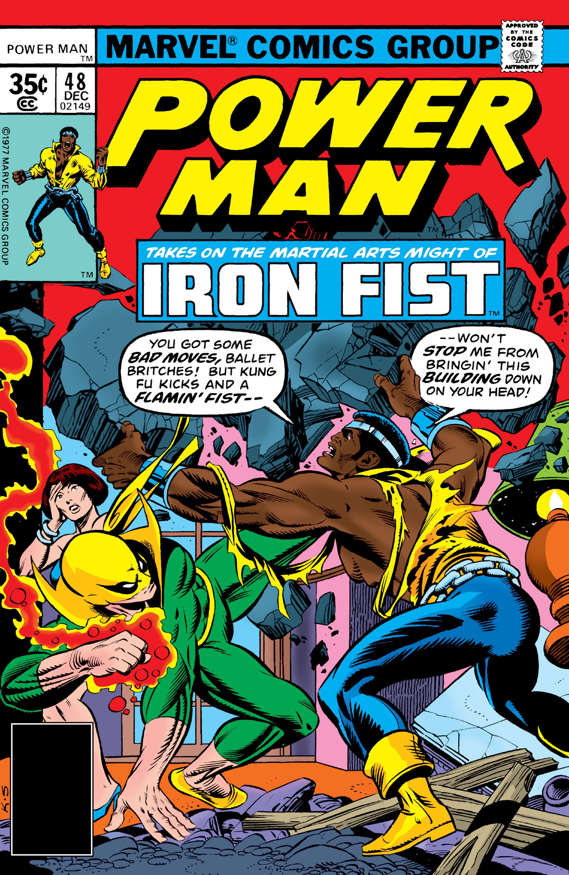 Power man vol 1 48 marvel database fandom powered by wikia power man vol 1 48 sciox Images