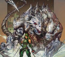 Predator X from Astonishing Tales Vol 2 1 001