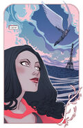 Wanda Maximoff (Earth-616) and Alain Racine (Earth-616) from Scarlet Witch Vol 2 6 001
