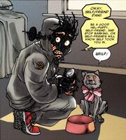 Warlock (Technarch) (Earth-616) and Thori's Littermates (Earth-616) from Exiled Vol 1 1 001