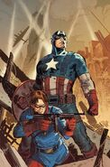 Captain America Vol 9 1 Garney Variant Textless