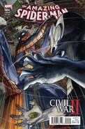 Civil War II Amazing Spider-Man Vol 1 4 Bianchi Variant