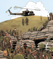 Hill 861 from Punisher MAX The Platoon Vol 1 1 001