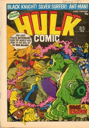 Hulk Comic (UK) Vol 1 42