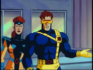 Jean Grey (Earth-92131) and Scott Summers (Earth-92131) from X-Men The Animated Series Season 5 2 001