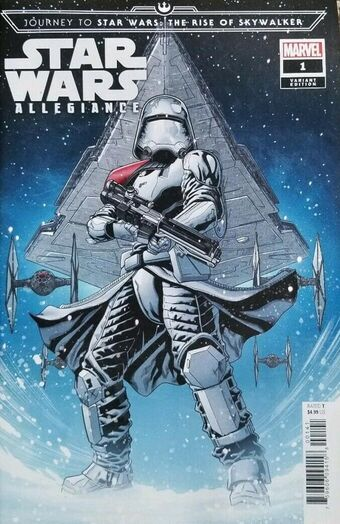 Journey To Star Wars The Rise Of Skywalker Allegiance Vol 1 1 Marvel Database Fandom