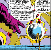Kang's Light of the Centuries Sphere from Avengers Vol 1 69 002