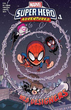 Marvel Super Hero Adventures Spider-Man - Web Designers Vol 1 1