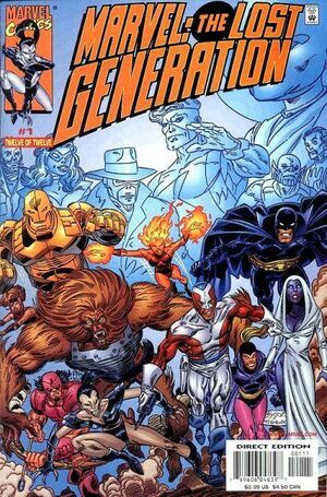 Marvel The Lost Generation Vol 1 1