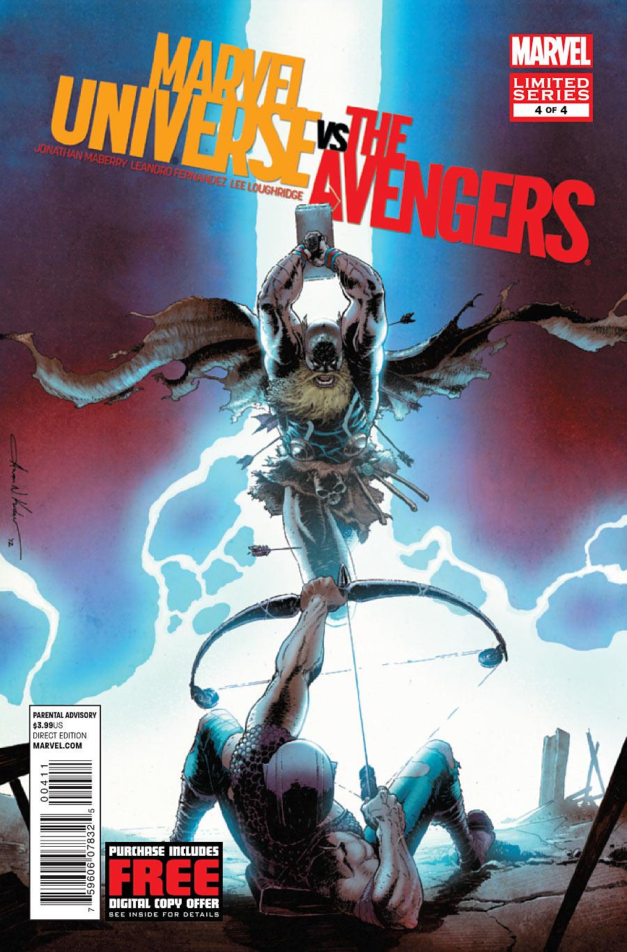 Marvel Universe Vs  The Avengers Vol 1 4 | Marvel Database