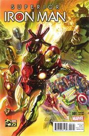 Superior Iron Man Vol 1 1 Marvel 75th Anniversary Variant