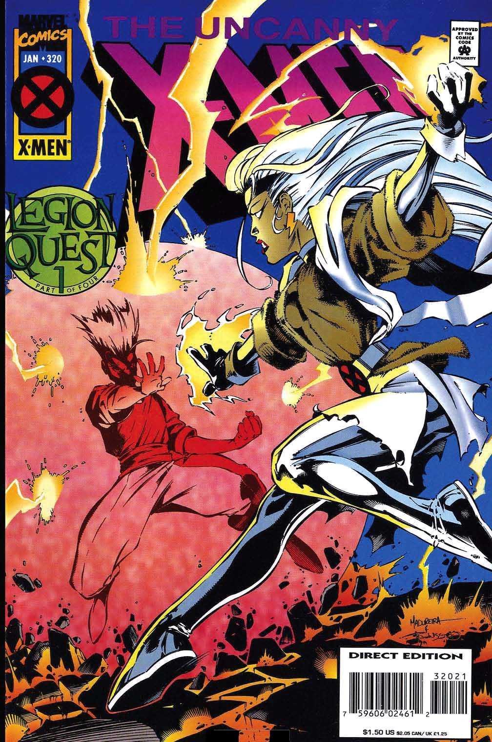 Uncanny X Men Vol 1 320
