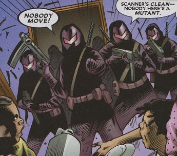 Weaponeers (Earth-616) from Excalibur Vol 3 12 002