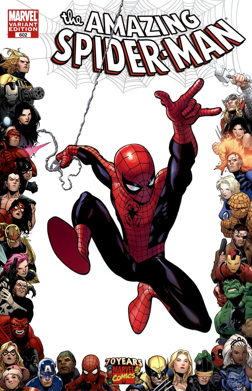 Image - Amazing Spider-Man Vol 1 602 70th Frame Variant.jpg | Marvel ...