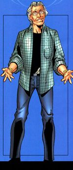 Benjamin Parker (Earth-1610) from Official Handbook of the Ultimate Marvel Universe Ultimate Spider-Man - Ultimate Fantastic Four 2005 Vol 1 1 0001