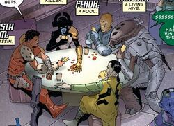 Butcher Squadron (Earth-616) from Thanos Vol 3 1 001