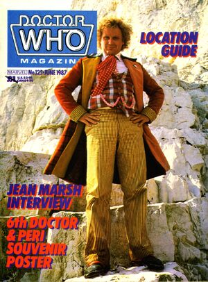 Doctor Who Magazine Vol 1 125