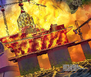 Grand Purpose Semi-Submersible Offshore Drilling Rig, Bay of Campeche from Iron Man 2.0 Vol 1 1 0001