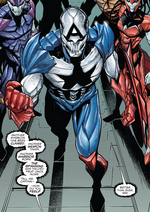 Hive (Poisons) (Earth-17952) Members-Poison Captain America from Venomverse Vol 1 2 001