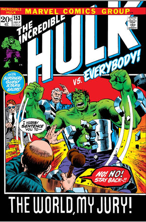 Incredible Hulk Vol 1 153