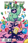 Indestructible Hulk Vol 1 1 Baby Variant