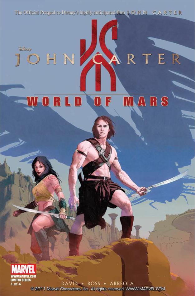 Luke Ross Peter David John Carter: The World Of Mars Excellent