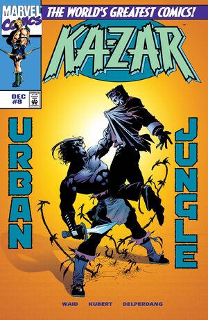 Ka Zar Vol 3 8 Marvel Database Fandom Powered By Wikia