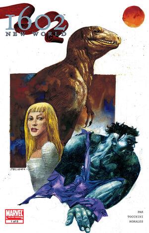 Marvel 1602 New World Vol 1 1