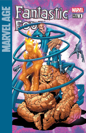 Marvel Age Fantastic Four Vol 1 3